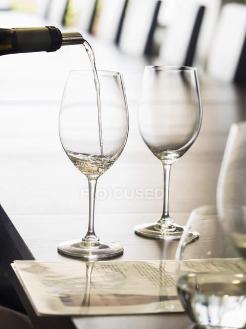 Degustación de vinos en la región vinícola de Alentejo en Portugal - foto de stock