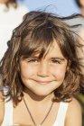 Porträt der niedliche kleine Mädchen — Stockfoto