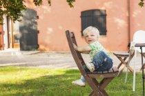 Cute baby boy — Stock Photo