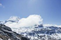 Paesaggio coperto di neve — Foto stock