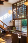 House interior in Architectural Museum — Stock Photo