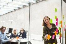 Предприниматель, презентации — стоковое фото