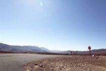 Дорога Долина смерти Национальный парк — стоковое фото