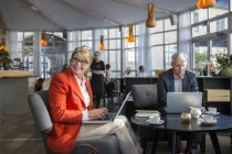 Male and female business colleagues — Stock Photo