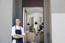 Felice Chef maschile — Foto stock