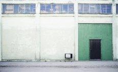 Televisión antigua - foto de stock