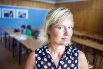 Ritratto di insegnante fiducioso — Foto stock