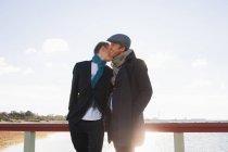 Щасливі молодих чоловіків-геїв — стокове фото