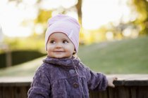 Мила дівчинка — стокове фото