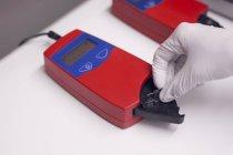 Équipement d'analyse de sang — Photo de stock