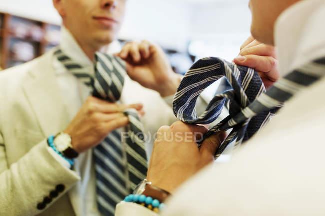 Cravate de liant client — Photo de stock
