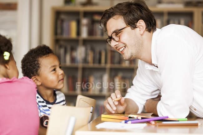 Enseignants de l'enseignement — Photo de stock
