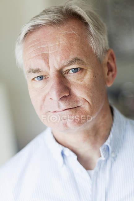 Confident senior man — Stock Photo