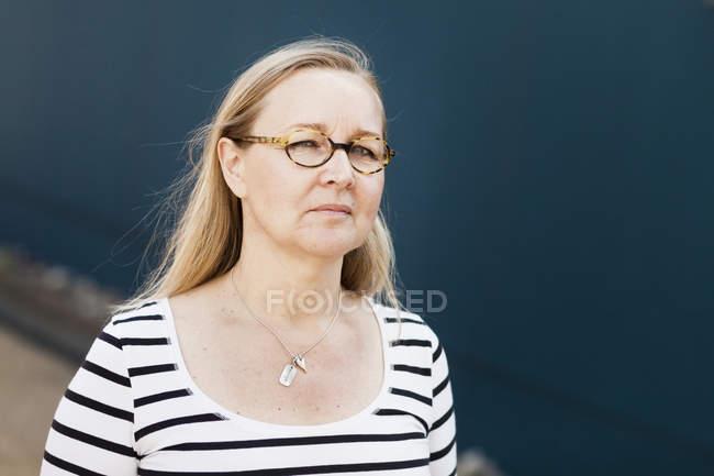 Confiante mulher madura — Fotografia de Stock