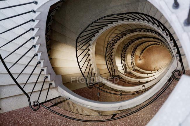 Vintage Spiral Staircase U2014 Stock Photo