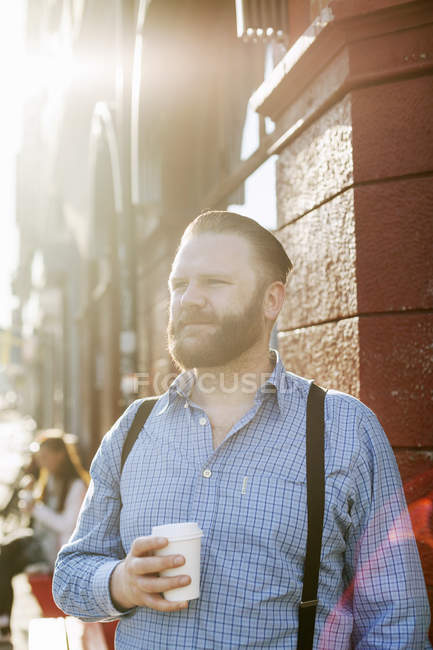 Man looking away — Stock Photo