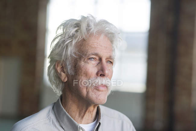 Gentil homme senior — Photo de stock