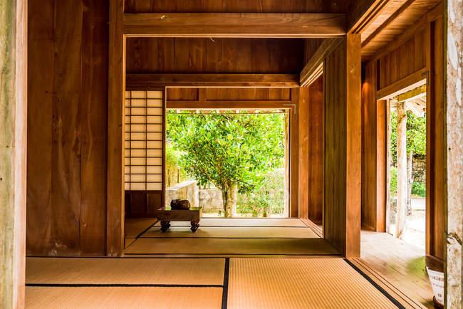 Традиционного окинавского дома — стоковое фото