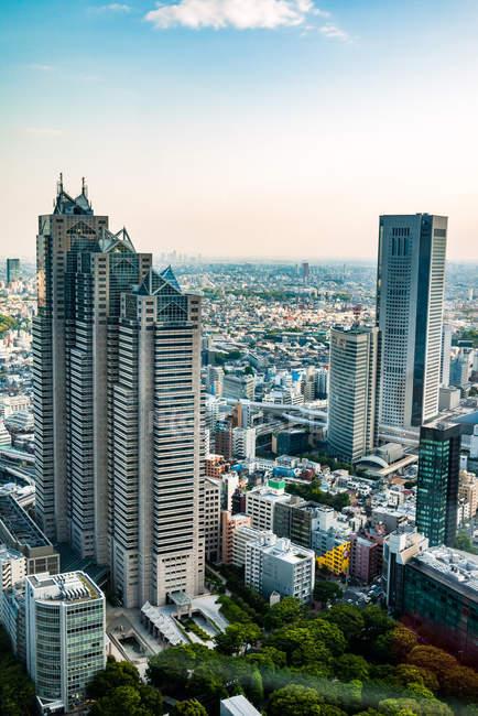 Tour de parc Shinjuku gratte-ciel — Photo de stock