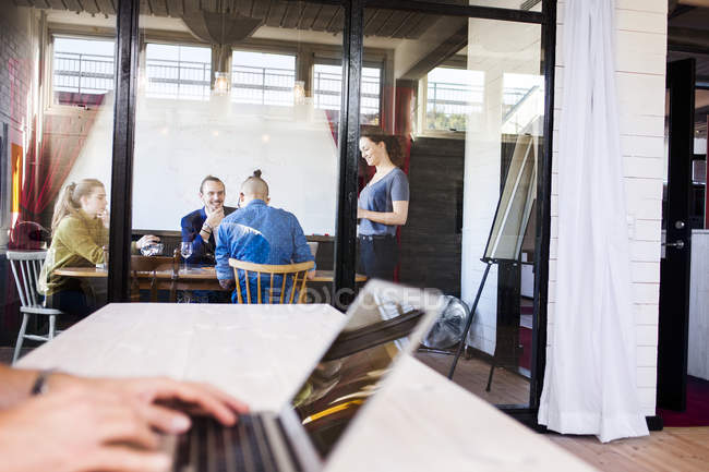Creative business people — Stock Photo