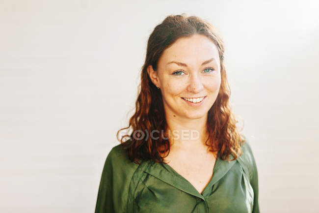 Mid adult woman — Stock Photo