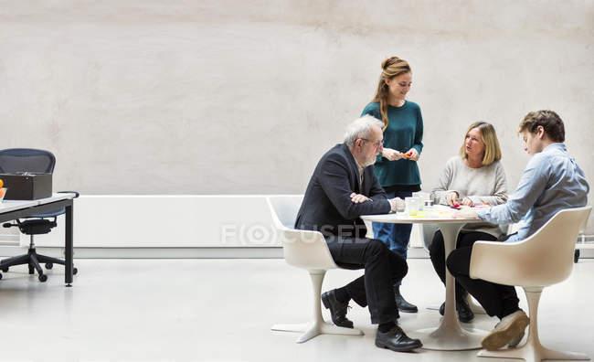 Équipe de gens d'affaires — Photo de stock