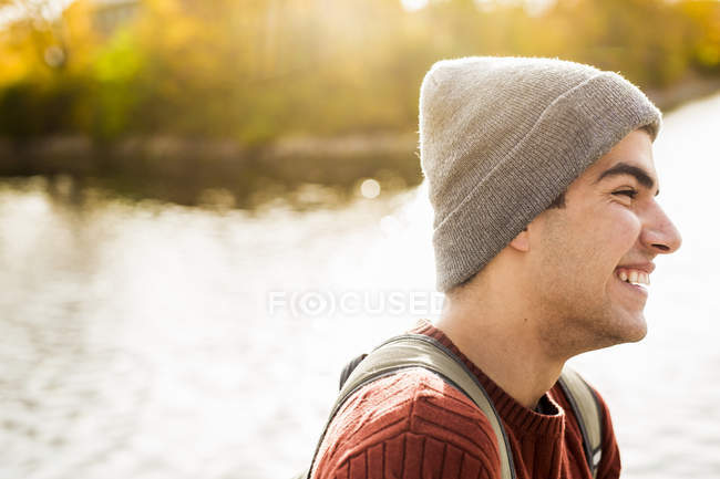 Happy young man — Stock Photo