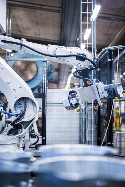 Produktionsanlagen im Werk — Stockfoto