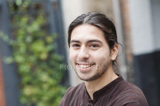 Portrait of happy man — Stock Photo