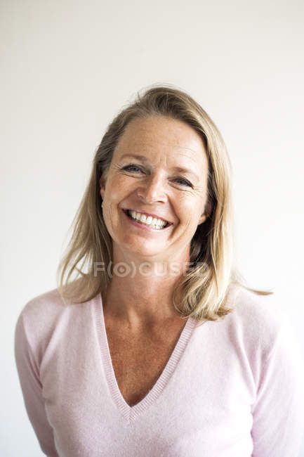 Mature female teacher — Stock Photo