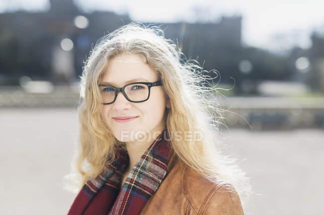 Bela adolescente menina — Fotografia de Stock