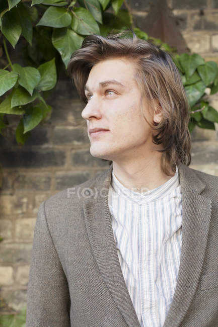 Thoughtful young man — Stock Photo