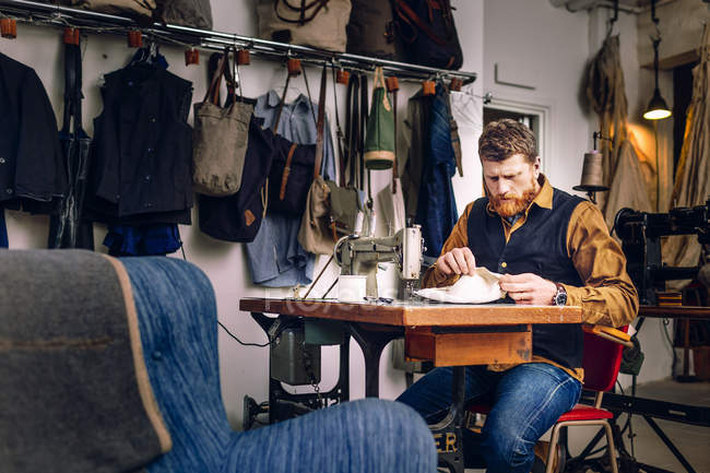 Tasca a tracolla per lavoratori — Foto stock