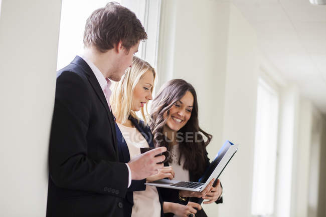 Young business colleagues — Stock Photo