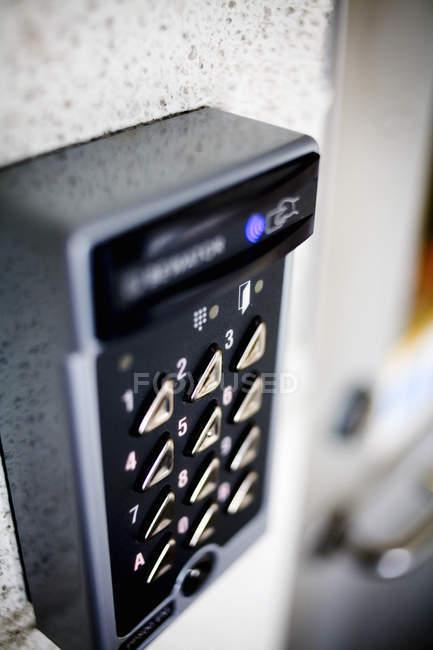 Код безпеки дверне — стокове фото