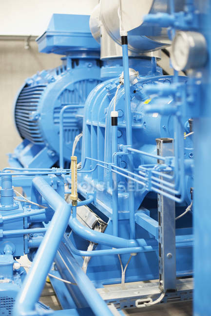 Machinery in industry, manufacturing equipment — Stock Photo