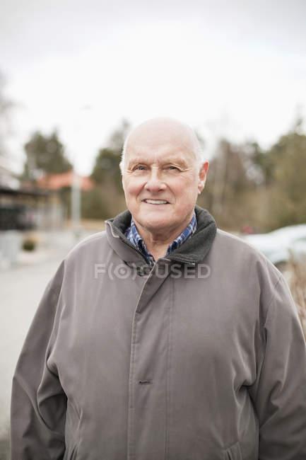 Homem feliz sênior — Fotografia de Stock