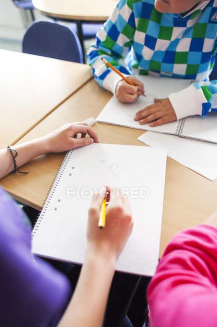 Juniors high étudiants — Photo de stock
