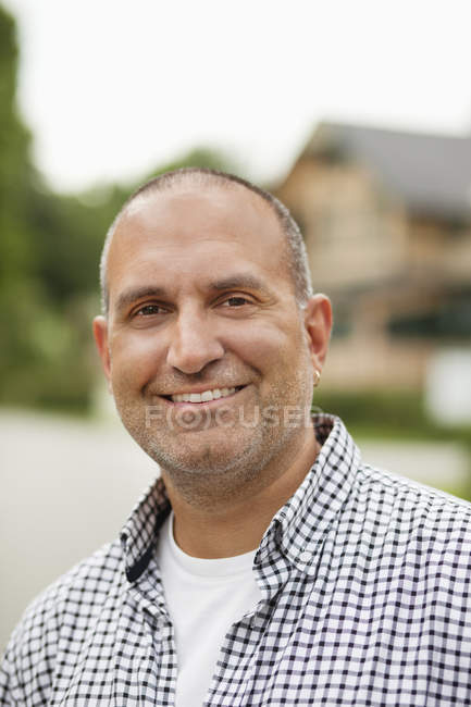 Portrait of happy man — Stock Photo