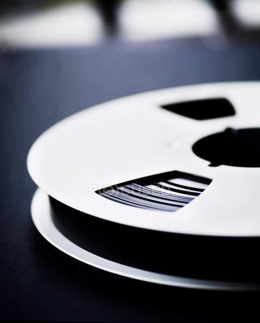 Film reel on table — Stock Photo