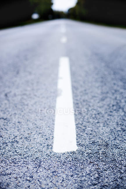 Surface level of road — Stock Photo