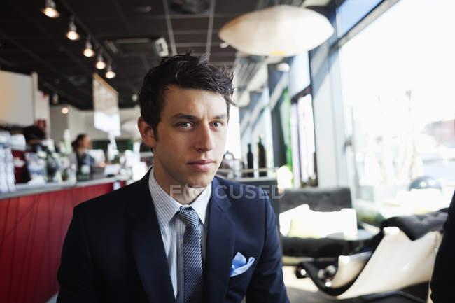 Ritratto di uomo d'affari sicuri — Foto stock