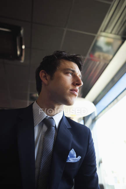 Low angle view of businessman — Stock Photo