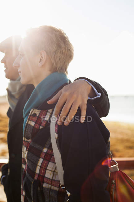 Young gay couple — Stock Photo