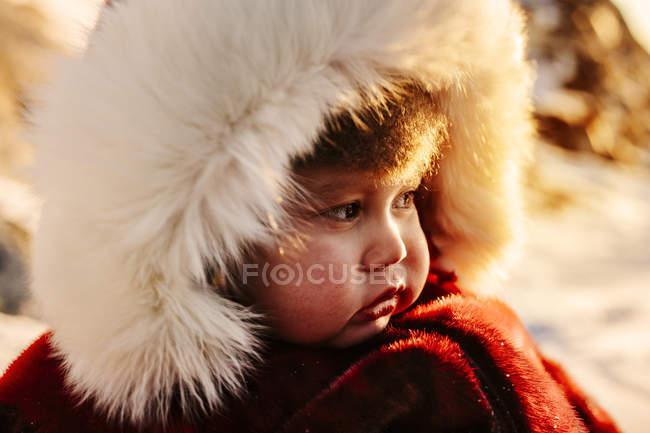 Ritratto di bambino — Foto stock