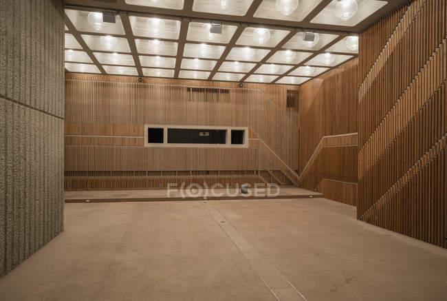 Empty hall of modern building — Stock Photo