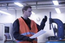 Ingenieur-Inspektion Arbeitswerkzeuge — Stockfoto