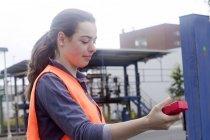 Молодой специалист работник — стоковое фото