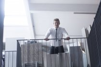 Young male sales manager — Stock Photo