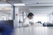 Businessman working at office — Stock Photo